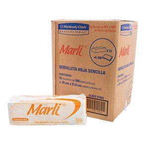 Servilleta tradicional Marli 12/ 450 hjs.