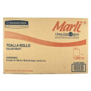 Toalla en rollo Marli Eco 6/ 180 mts.